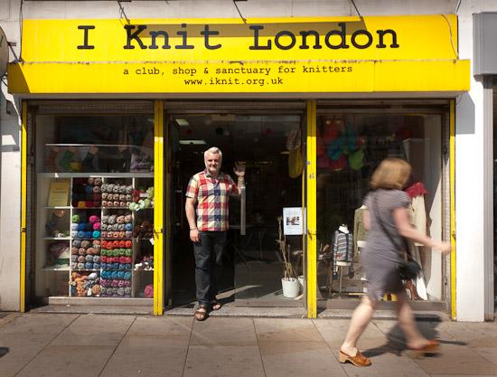 Reisetips London, I Knit London (garnbutikk)