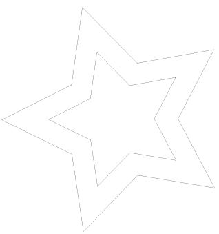 Klikk her for å laste ned stjernemalen i full størrelse