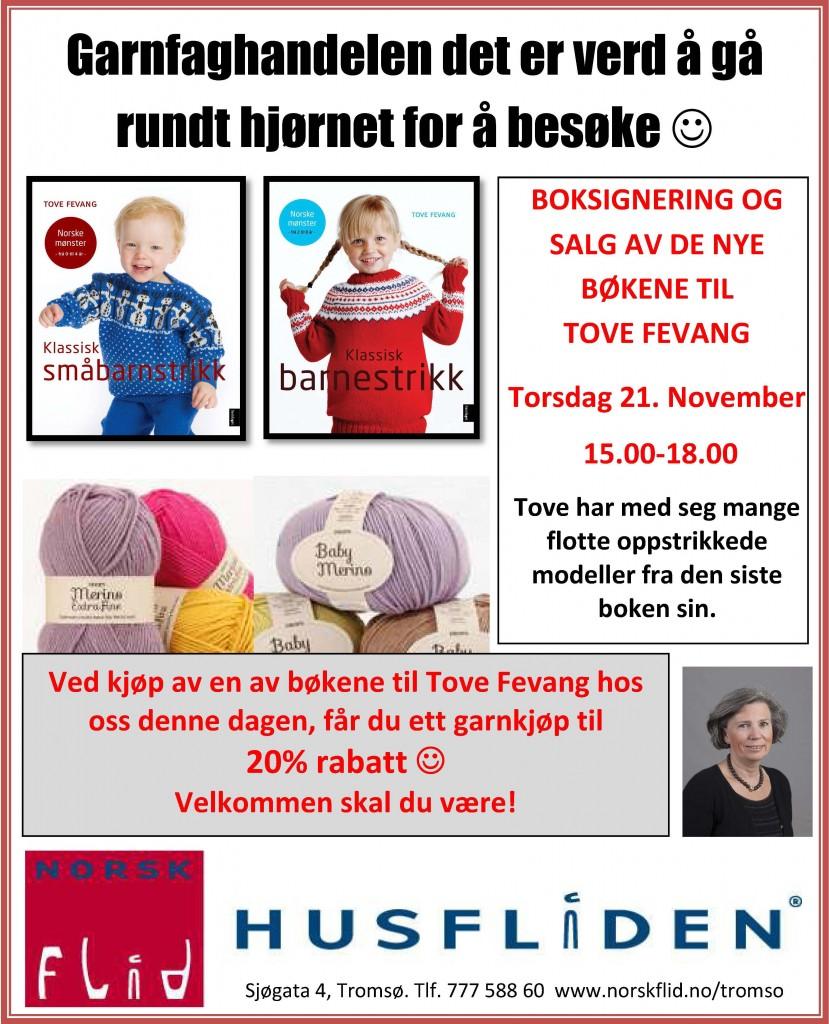 Husfliden Tromsø torsdag 21. november