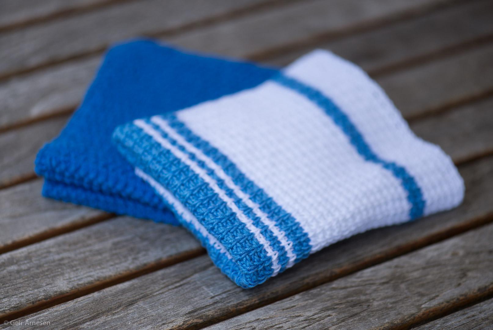 Er dere klare igjen? I morgen kommer to nye kluteoppskrift, en strikket og en hakket!