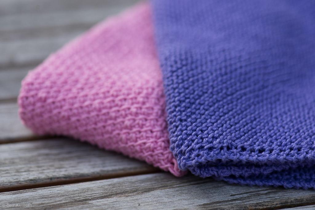 Sniktitt på kluter nr. 6 og i morgen er det igjen en ny strikke- og hakkeoppskrift!