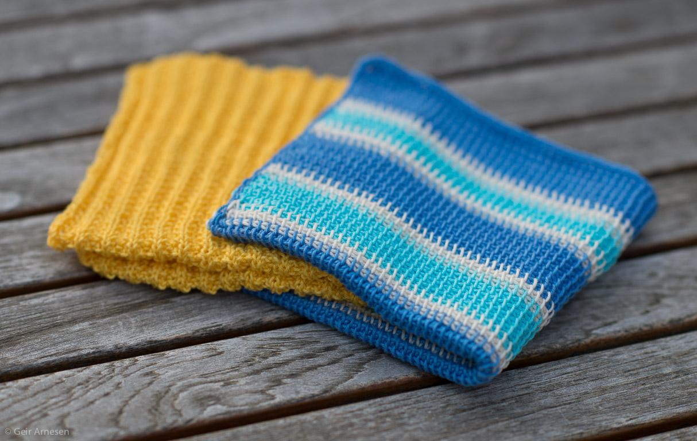 Klare for kluter nr. 4? I morgen er det igjen en ny strikke og hakke oppskrift!