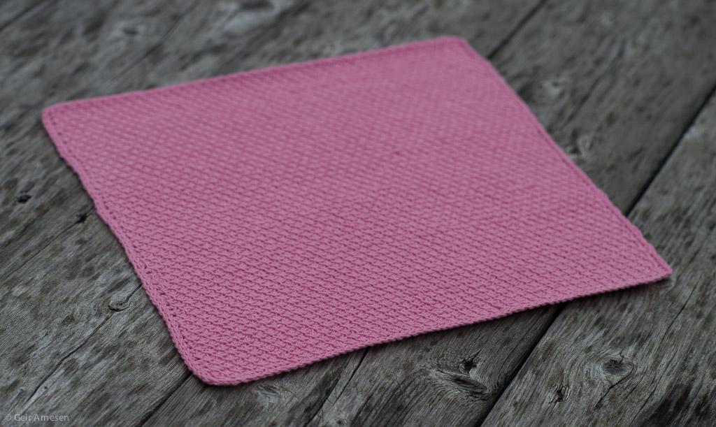 Hakket klut rosa, oppskrift nr. 3