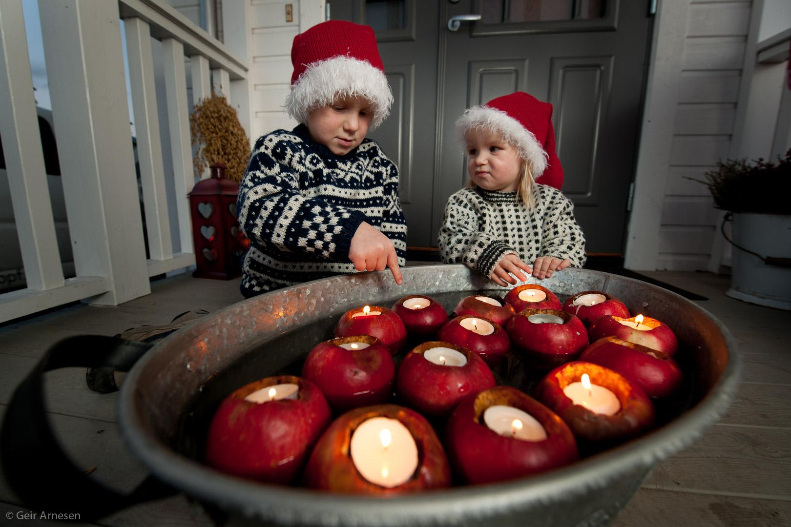 Et fat med epler…