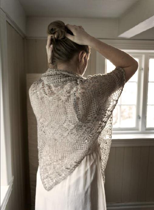 romantisk sjal