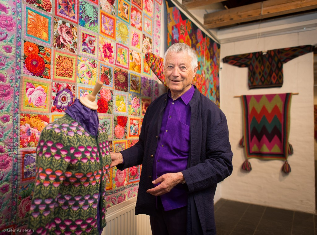 Kaffe Fassett – 50 years in colour