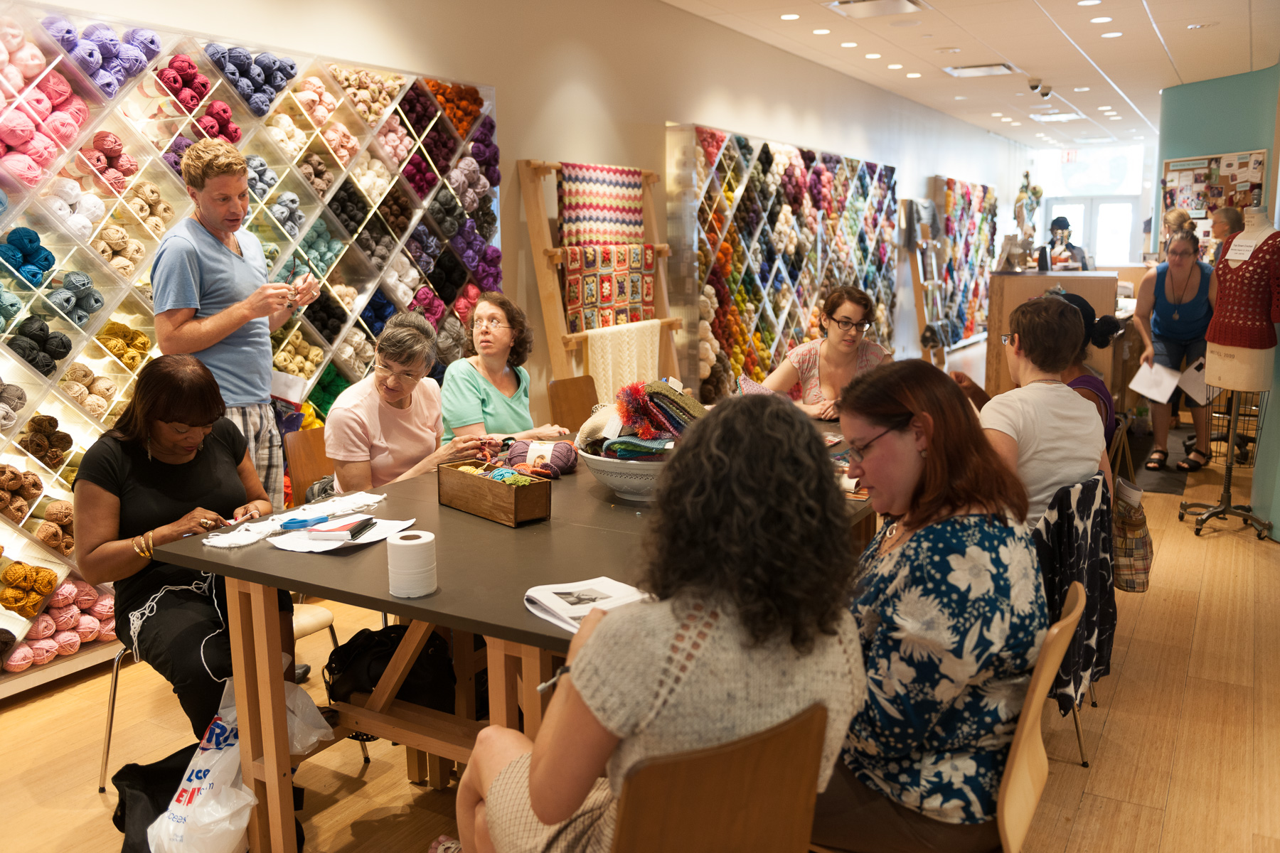 Strikketur til New York og Vogue Knitting Live New York 10. – 17. januar 2018