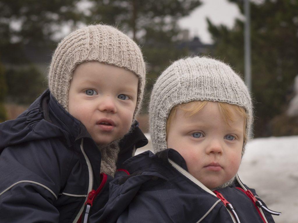 Halslue / Balaclava / Hettehals / Finlandshette til barn gratis oppskrift